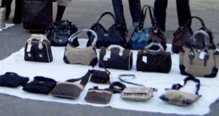 Montesilvano a Corso Strasburgo, borse contraffatte sequestrate dalla Polizia locale