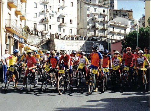 Gara di mountain bike in Calabria con Franco Campilongo