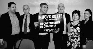 Copenaghen e Cracovia le due nuove rotte Ryanair da Pescara