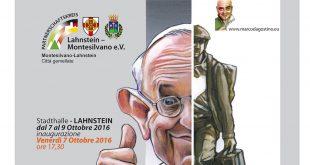 "Marco D'Agostino in mostra a Lahnestein con ""Caricartoon '16.2"""