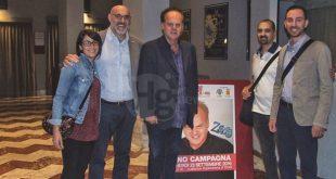 Pino Campagna di scena a Chieti si racconta: una vita tra gioie e dolori