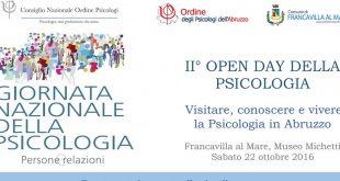 Francavila: II Open day della psicologia