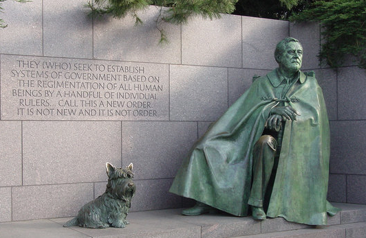 Il Franklin Delano Roosvelt Memorial