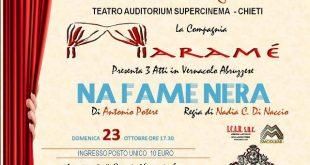 Chieti, 'Na fame nera' al Supercinema