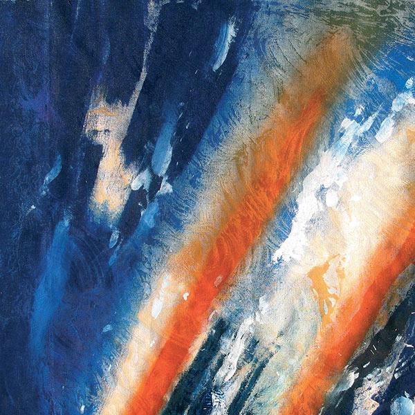 frammenti di un arcobaleno (part.), 2011, tecnica mista su tela
