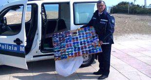 Contraffazione: Controlli della Polizia Municipale sulla Riviera a Pescara 22 verbali e 6 sequestri