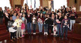 Stamane a Palazzo di Città il benvenuto ai nuovi nati di marzo