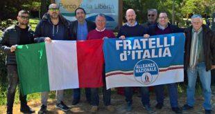 """A Montesilvano incontro-confronto di Fratelli d'Italia al Parco della Libertà. Forconi """"invitiamo i cittadini a segnalare il degrado"""""""