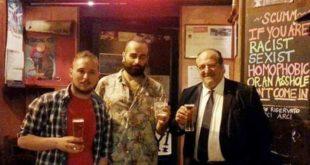 Aggressione fascista a Pescara: Visita di Mazzocca allo Scumm