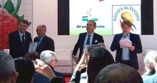 RIMINI, MACFRUT AWARD 2017:MEDAGLIA D'ARGENTO ALL'AMPP