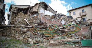 Sisma: approvato il piano gestione macerie. Oltre 128mila tonnellate da rimuovere
