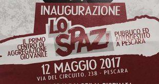 A Pescara arriva Lo Spaz, venerdì alle 17 l'inaugurazione.