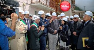 Sisma: visita aCampotosto di una delegazione del Comitato delle regioni europee