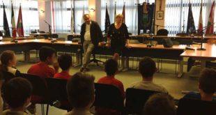 Montesilvano, gli alunni della Fanny Di Blasio in visita in Comune
