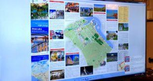 Presentata la Carto-guida di Pescara e le attività del Centro di informazioni turistiche dell'Urban Box