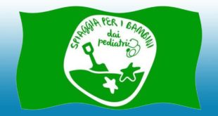 Per l'undicesimo anno a Montesilvano la Bandiera Verde dei pediatri
