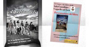 """A Cappelle sul Tavo la presentazione del libro di Andreina Moretti """"Aspettandoti"""""""