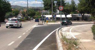 Montesilvano, Via Togliatti, apre al traffico il nuovo svincolo