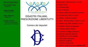 Il Comitato vittime di Rigopiano presente a Roma a un convegno su disastri e prescrizione
