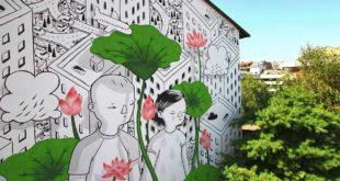 """Street Art, Pompei: """"Millo a Montesilvano per riqualificare via Rimini"""""""