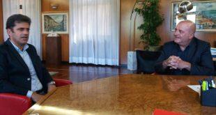Sanità: DEA 2° livello Chieti Pescara. Incontro tra il Presidente del Consiglio Comunale, Aceto e il Rettore dell'UdA,Caputi
