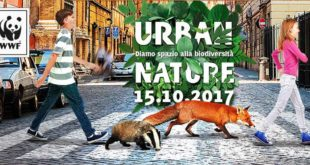 Domenica 15 ottobre a Chieti, Urban Nature, dalle 9:30 alle 13 col WWFalla scoperta della natura in città