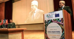 A L'Aquila l'intervento di Tajani per il  finale del Programma IPA Adriatic