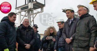 Una nuova tettoia per il Museo del Treno di Montesilvano, posata la prima pietra  – VIDEO