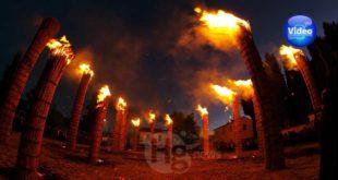 Fara Filiorum Petri e le farchie: l'Abruzzo del fuoco al grido di 'Sand'Andone!' > VIDEO