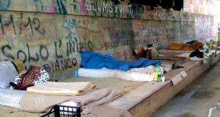 Pescara,pulizia e sgomberi sulla golena sud