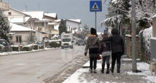 Meteo, deboli nevicate e temperature in aumento