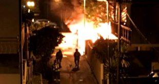 """A Montesilvano incendio in un deposito di cassette per l'ortofrutta in via Tavo, i residenti """"allarme inascoltato"""""""