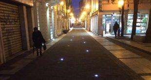 Nuova pavimentazione per il centro storico di Pescara, la zona la sera diventa pedonale