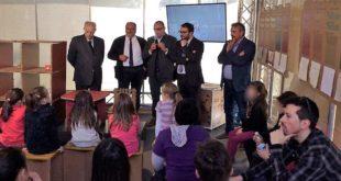 Il Sottosegretario d'Abruzzo Mazzocca inaugura il PalaComieco