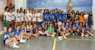 Trionfo dello sport in rosa a Città Sant'Angelo col VIC2018, torneo giovanile femminile under 16