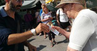 Montesilvano, Costituzione in omaggio al mercato, entusiasmo di tanti stranieri