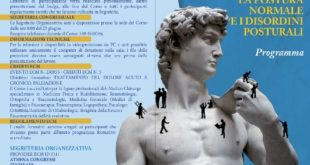 'La Postura normale e i disordini posturali', all'Aurum di Pescara