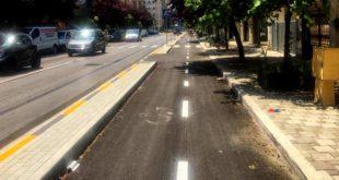 Pescara, aperta e percorribile la pista ciclabile di viale Muzii.