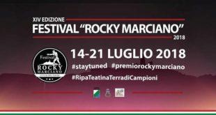 Ripa Teatina, il Festival Rocky Marciano entra nel vivo