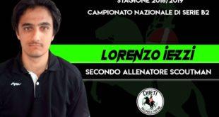 Coged, novità nello staff tecnico: Lorenzo Iezzi