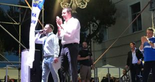 Matteo Salvini a Silvi
