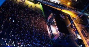 Pescara, notte Bianca dell'Adriatico, almeno 300.000 sulla Riviera in festa