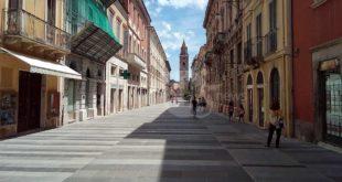 Nuova illuminazione nel centro storico di Teramo