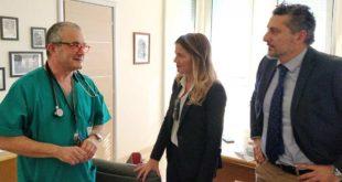 Giulianova, visita ispettiva del Movimento 5 Stelle all'ospedale