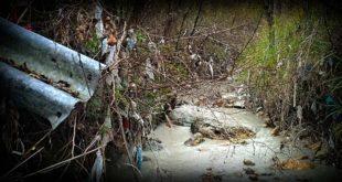 """Pinuccio rilancia il caso del """"fiume di plastica"""" a Guardiagrele  – DOCUMENTO"""