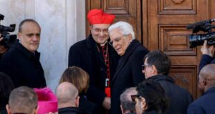 La chiesa delle 'Anime sante' rinasce alla presenza del Capo dello Stato Sergio Mattarella