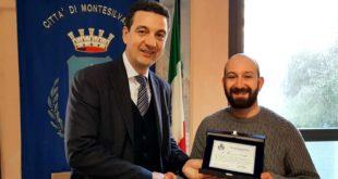 Montesilvano, premiato a Palazzo di Città il fotografo Francesco Cilli