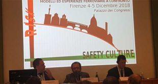 TUA Spa a Firenze per sottoscrivere la politica della sicurezza ferroviaria