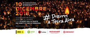 DIRITTI A TESTA ALTA' Pescara, 10 Dicembre h.18:30 in Piazza Muzii