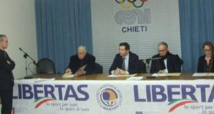 Chieti, presentato il Campionato Nazionale Libertas Open di Pattinaggio Artistico VIDEO